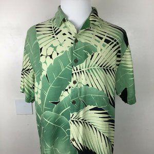 Tommy Bahama Hawaiian Shirt Men's XL 100% Silk Rel